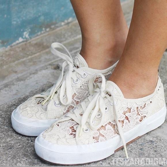 Superga Shoes | Superga Lace Sneakers